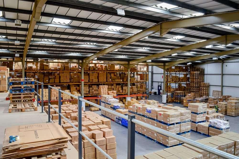garment processing warehouse wigan