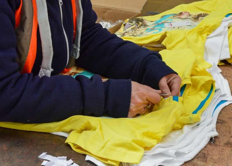 Garment Debranding - Label Removal