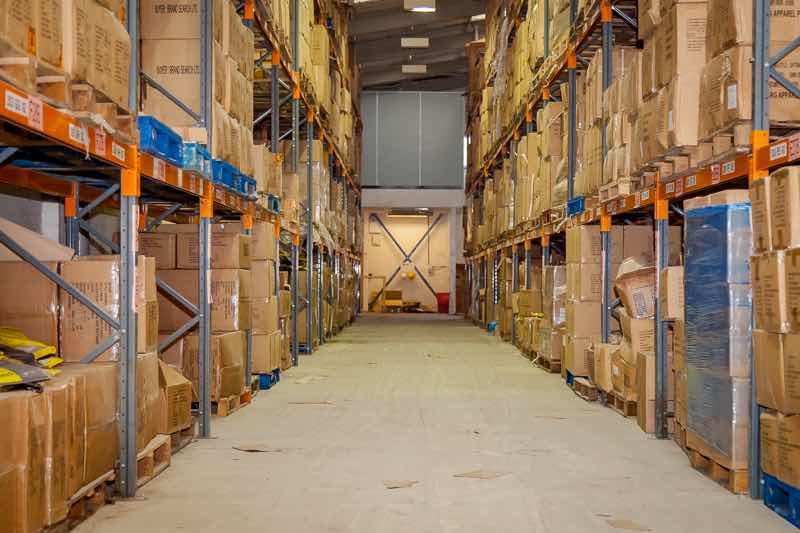 garment warehousing storage