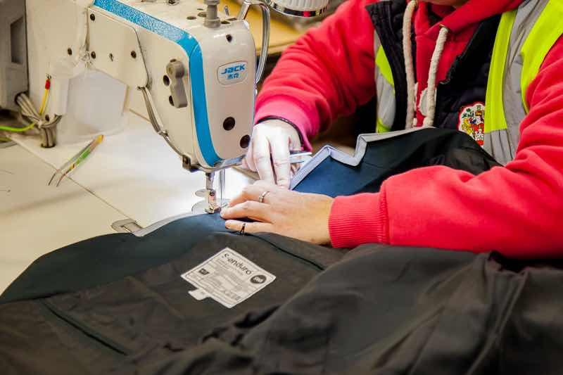 R4R garment decontamination